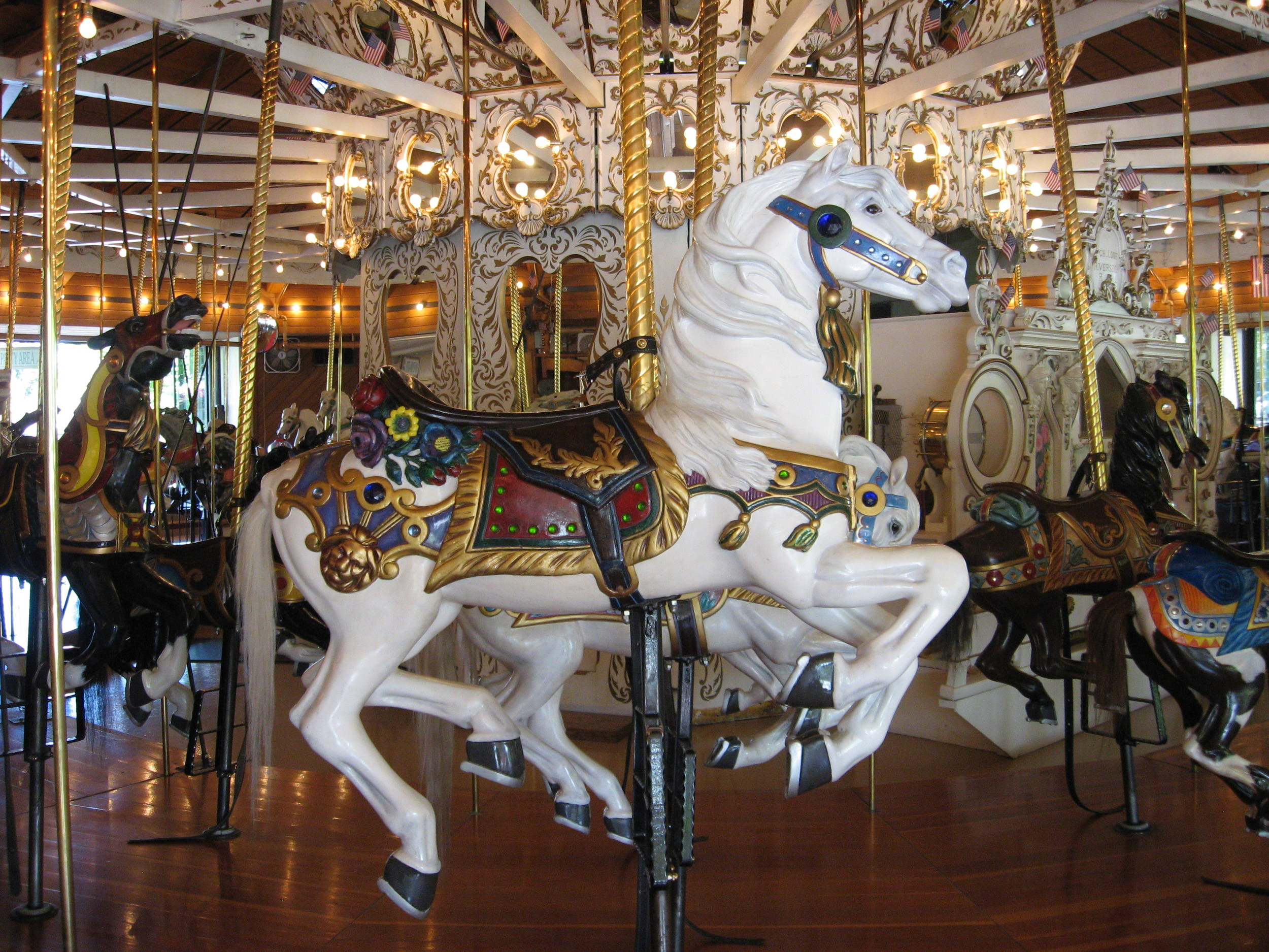 A carousel is common place in many cities I have visited - Spokane, Missoula, Helena and places like Paris and Lyon. Why not Calgary?