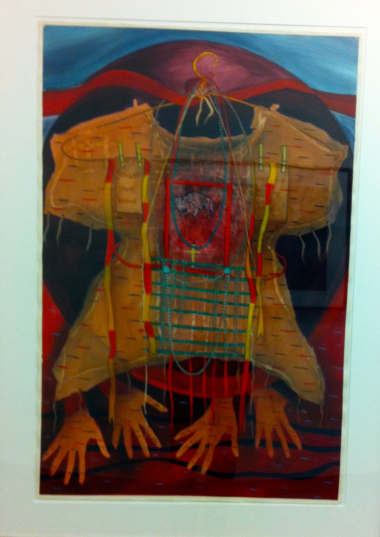 Joan Cardinal-Schubert drawing is just one of several pieces by major Calgary and Canadian artists.