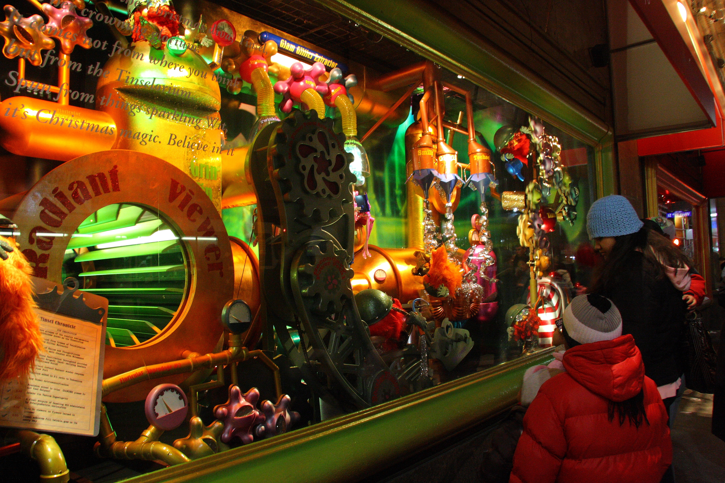 Why wait for Christmas...fun, funky, quirkydowntown windows should be part of the uniquedowntown experience all year.