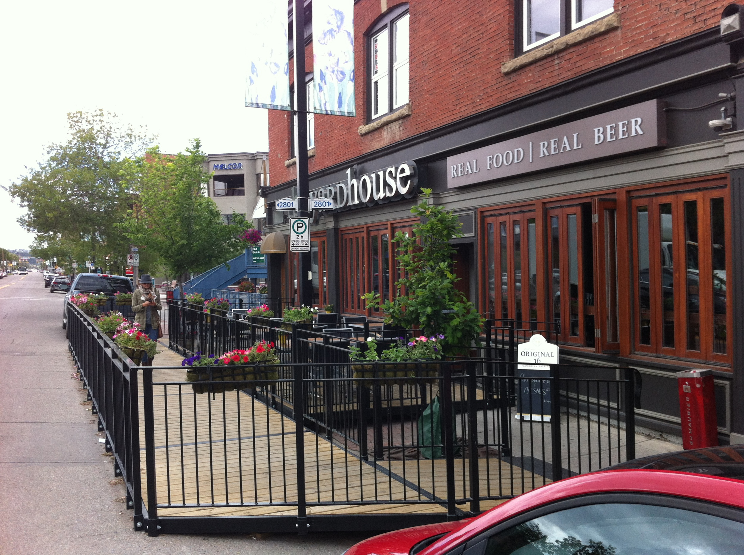 "Look for more ""pop-up"" patios that use street parking spots to allow for the addition of a summer patio on a narrow sidewalk."