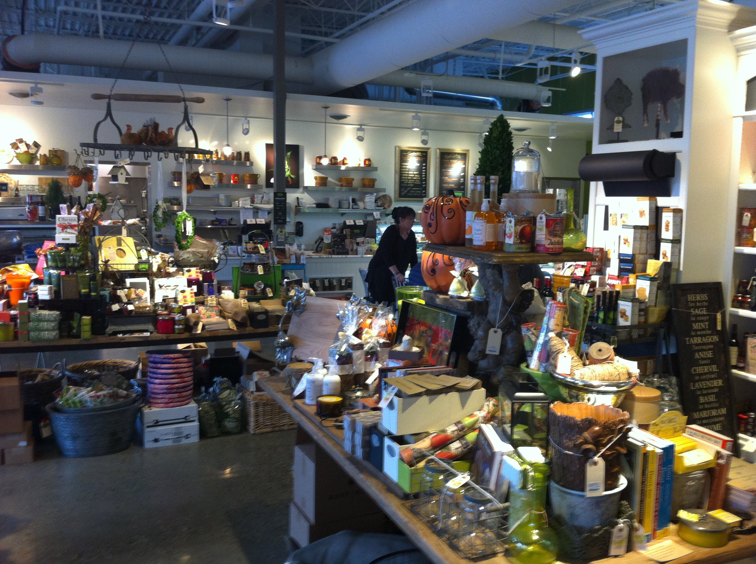 """a""""Tavola Gourmet Marketplace would be at home in Vancouver's Yaletown, Portland's Pearl District, Chicago's Gold Coast or Calgary's Beltline district."""