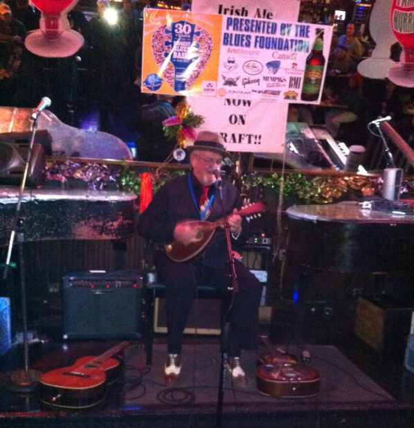 Tim Williams plays Silky O'Sullivan's on Beale Street to get into the finals.