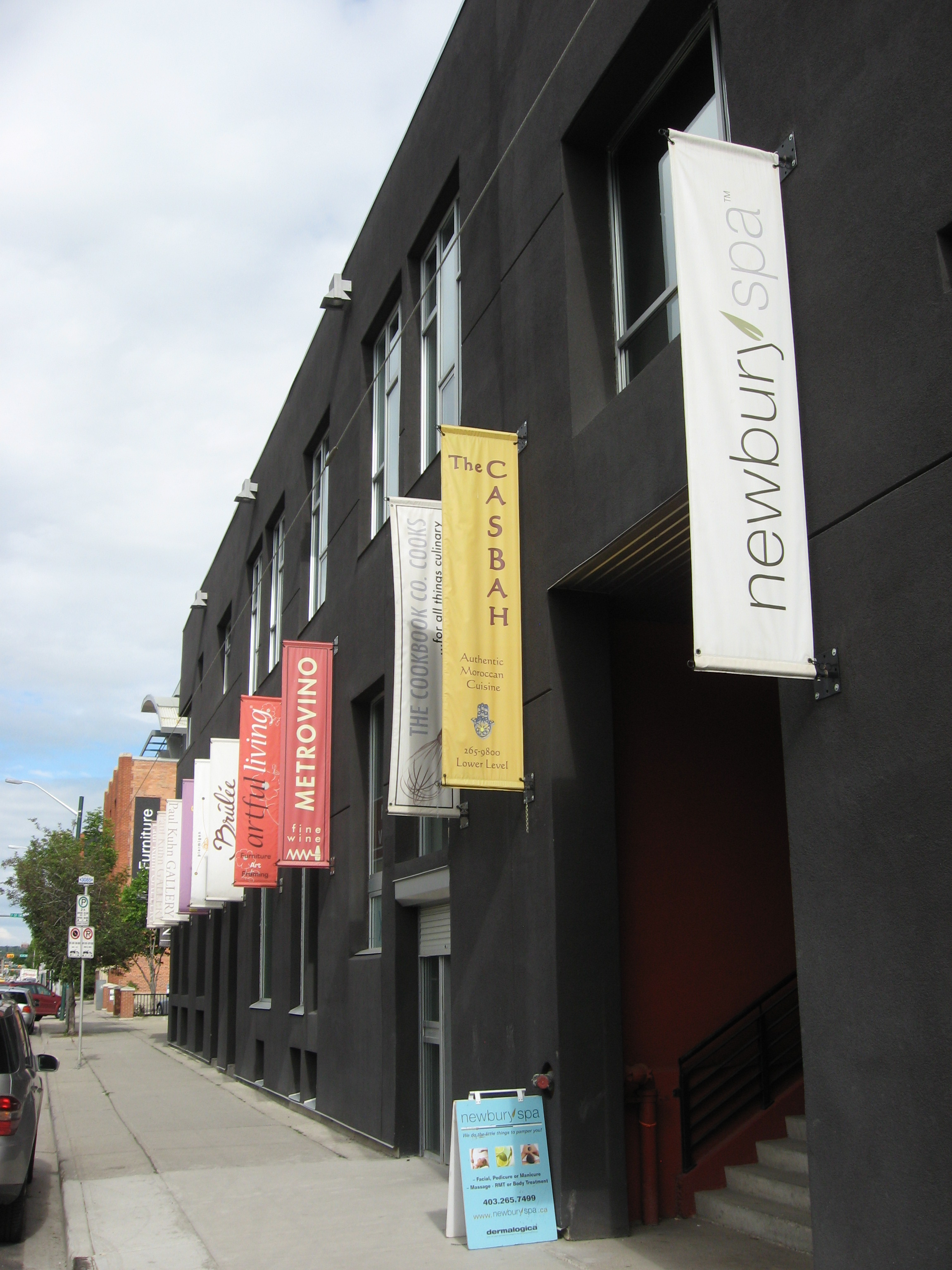 Calgary's Design District offers great restaurants, galleries and design shops.