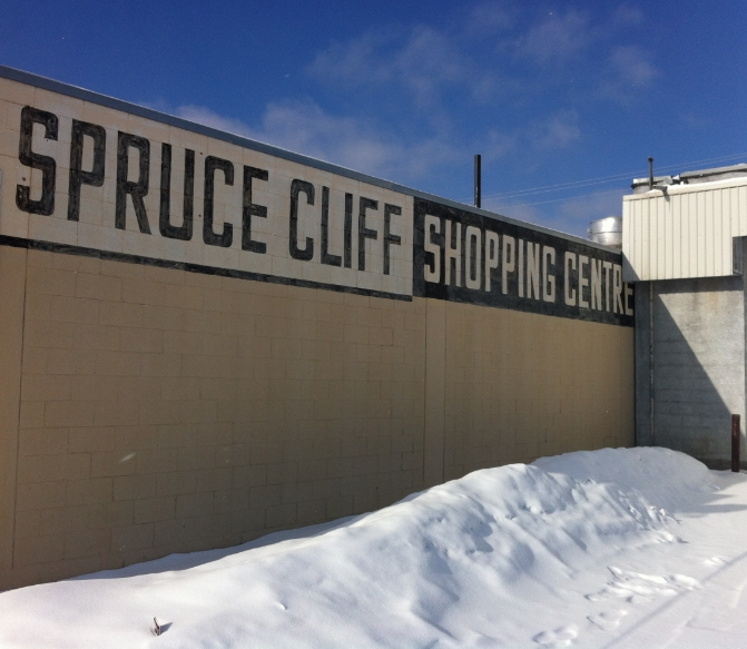 The Spruce Cliff community was established in 1950. It is located north of Bow Trail just past the Shaganappi Golf Course.