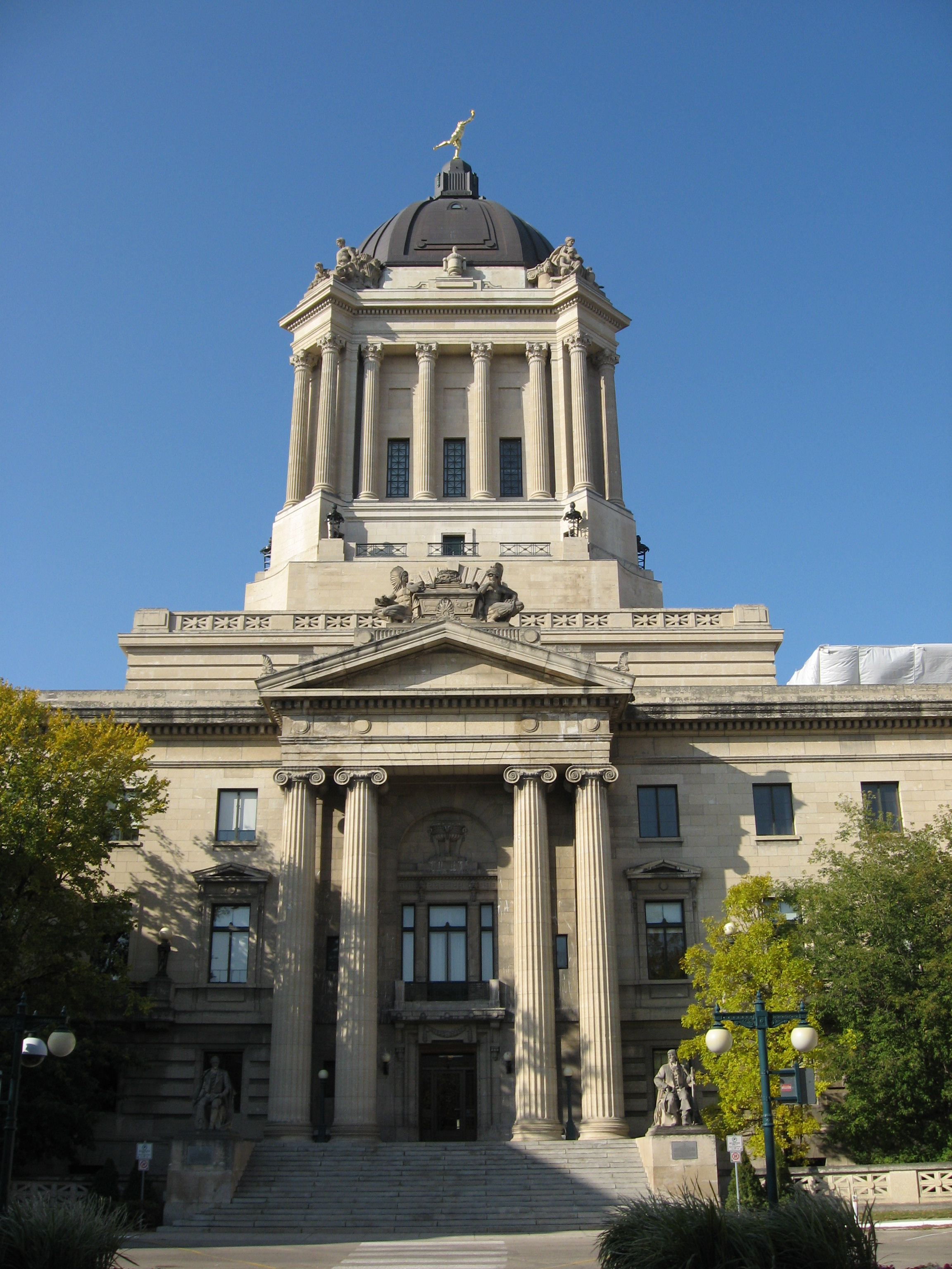 Winnipeg is home to a number of major historic buildings including the beaux arts architecture of the Manitoba Legislative Building.  In addition to being big, bold and beautiful, there is a mystery around some of the architectural elements like the sphinxes that has lead to a Hermetic Code theory.