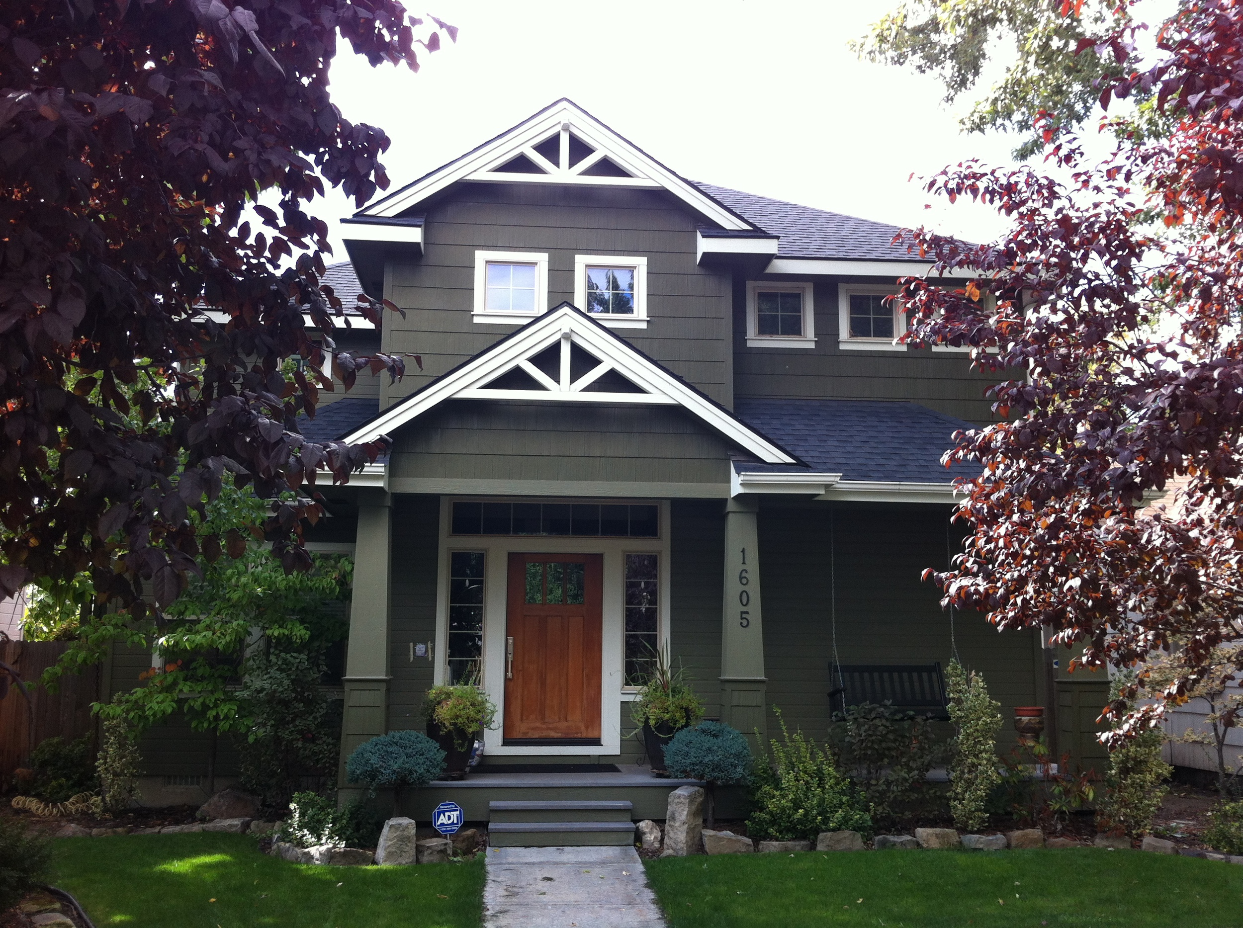 One of the many historic homes in Boise's north end.