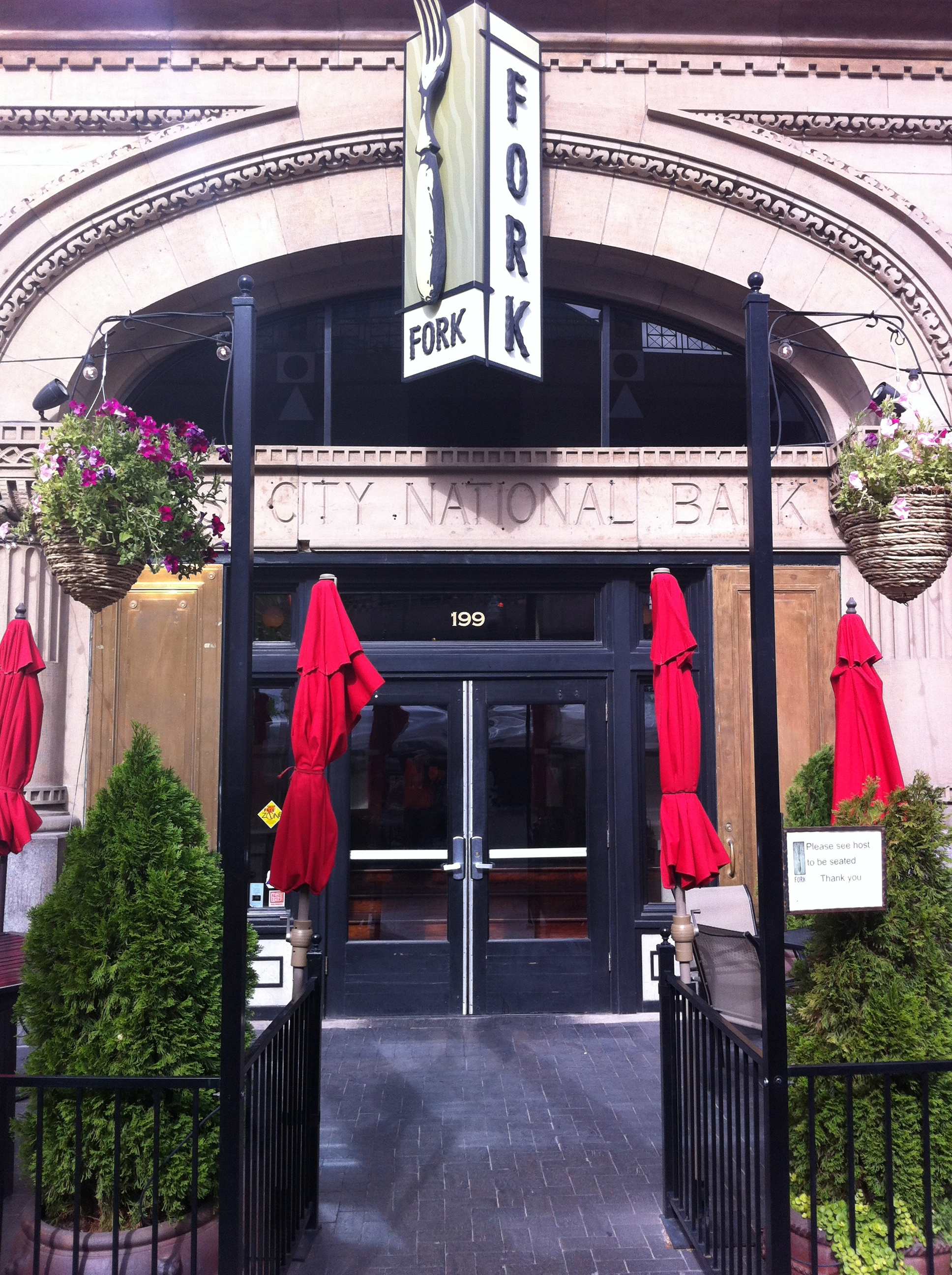 Fork is one of many creative and charming places to dine in downtown Boise.