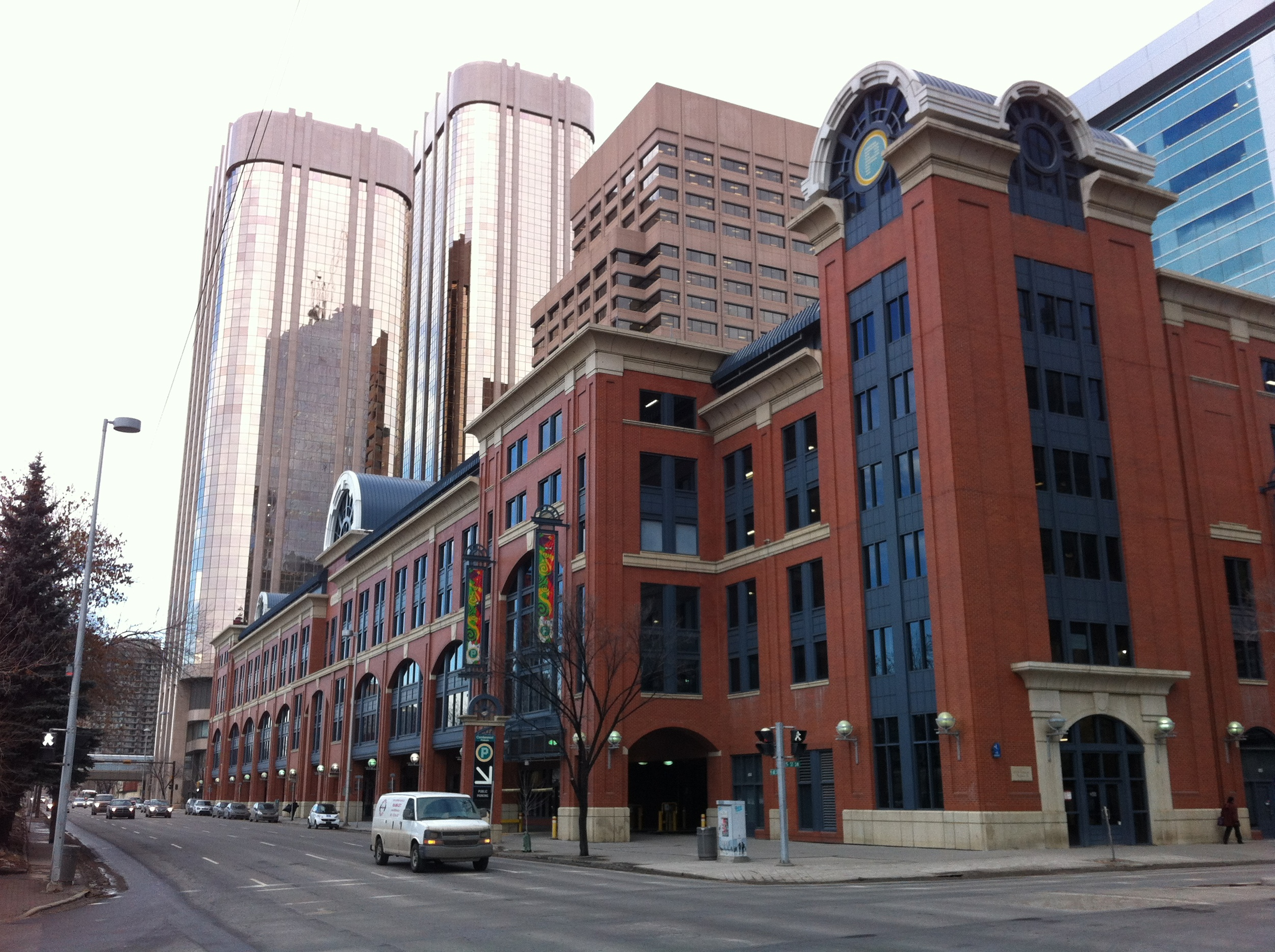 While Centennial Parkade is perhaps one of the more attractive parkades in North America, it has not been a catalyst for street life despite being designed with sidewalk retail spaces. The same can be said of most parkade blocks in our Downtown and those in other cities.