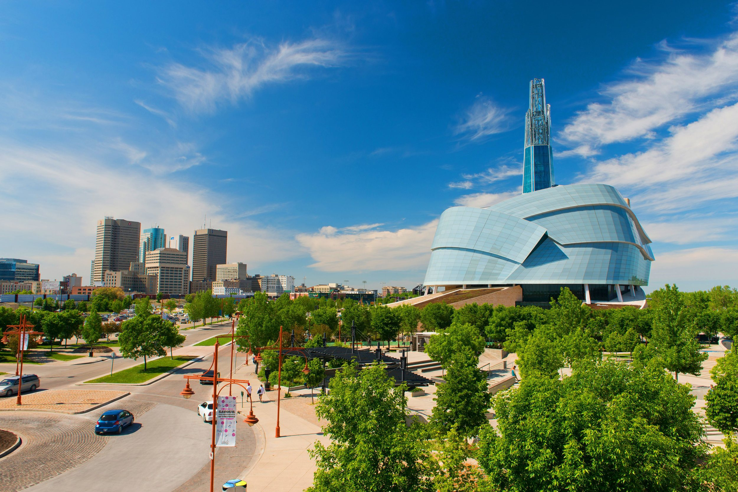 National Human Rights Museum, Winnipeg, Manitoba (cost: $351 million)