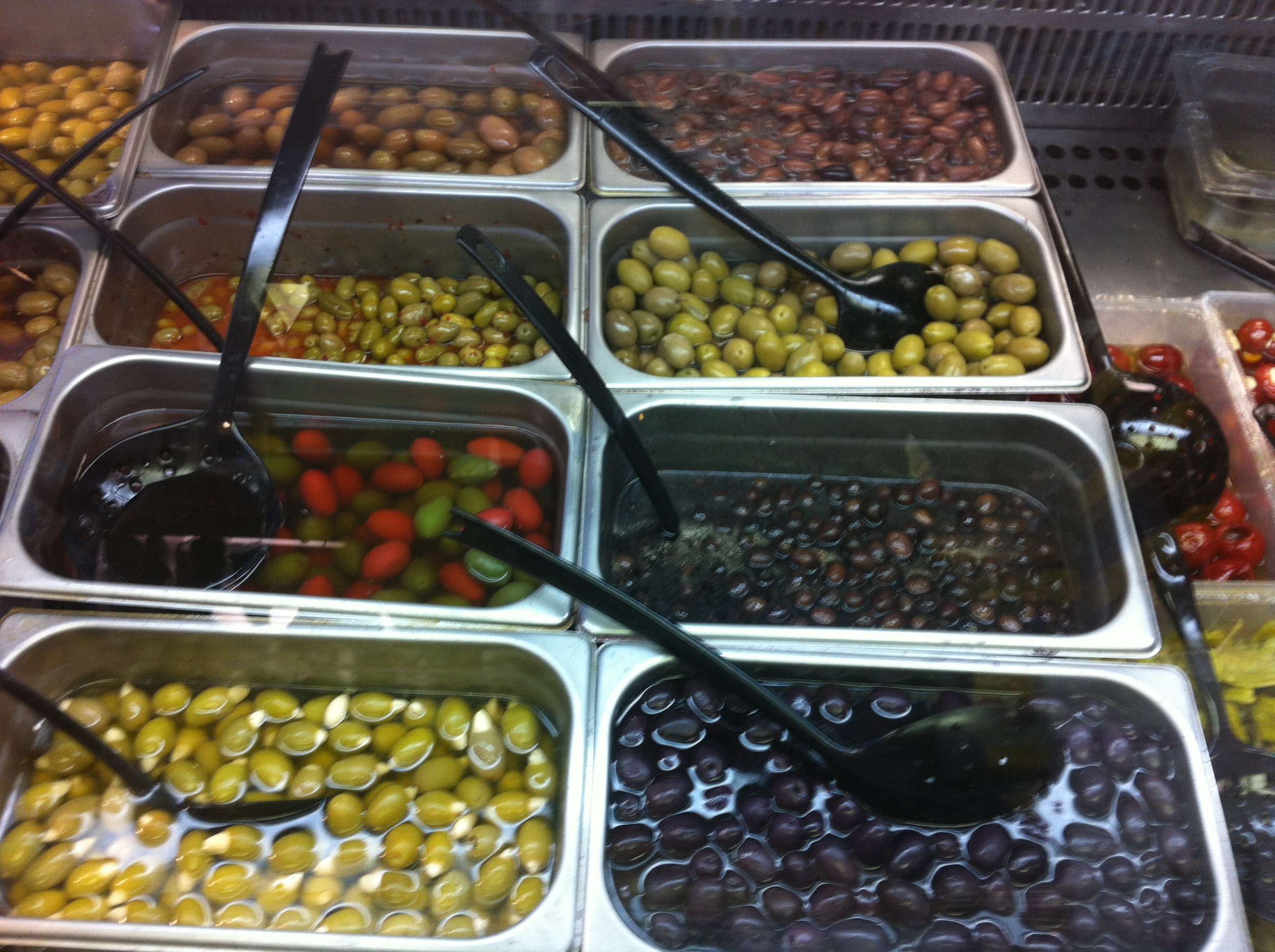 Of course Kalmata has olives.