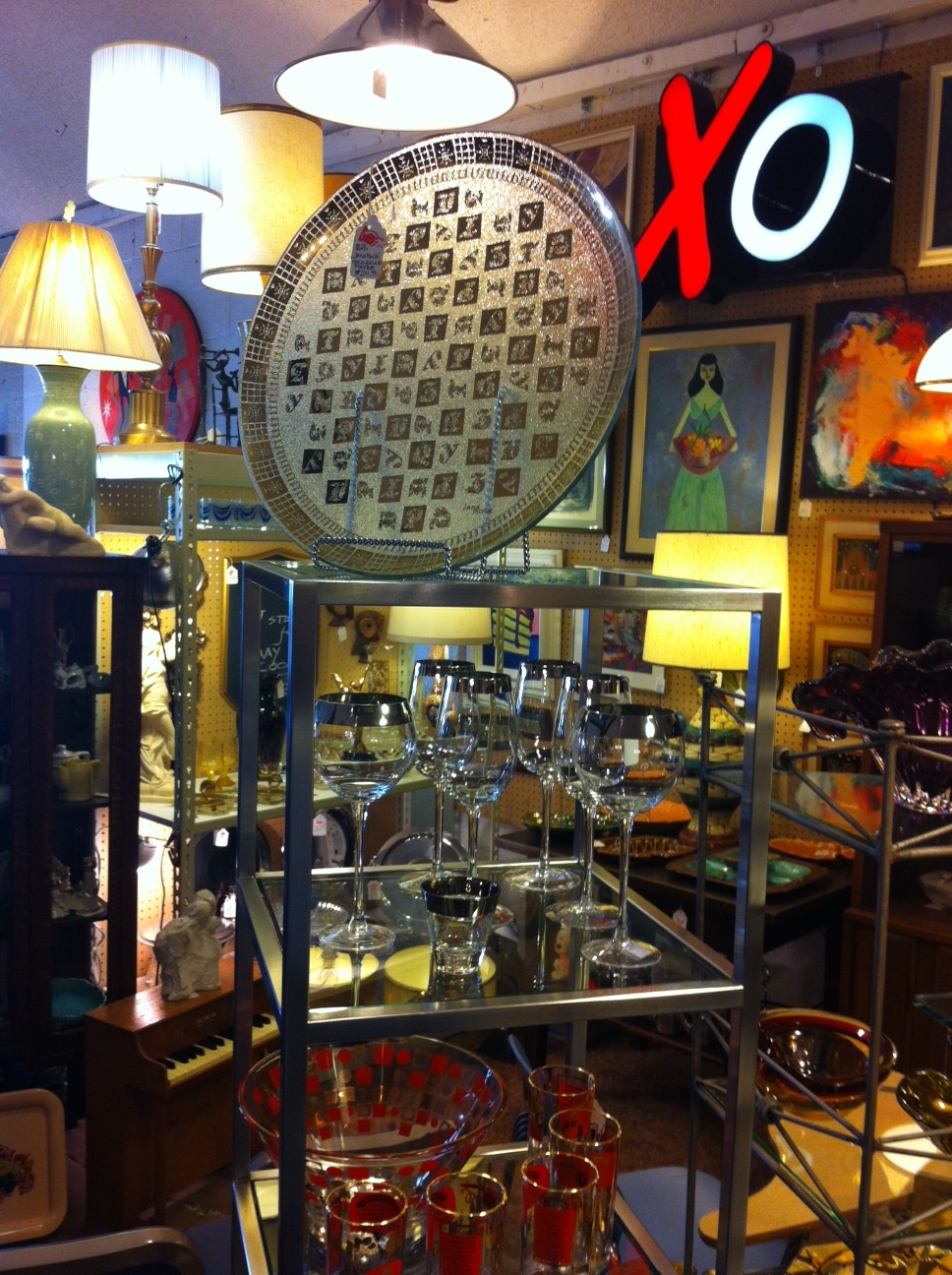 Inside MOM are curated vignettes of eclectic collections of vintage furniture and accessories.