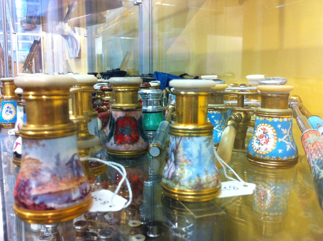 Who knew there were so many different opera glasses?