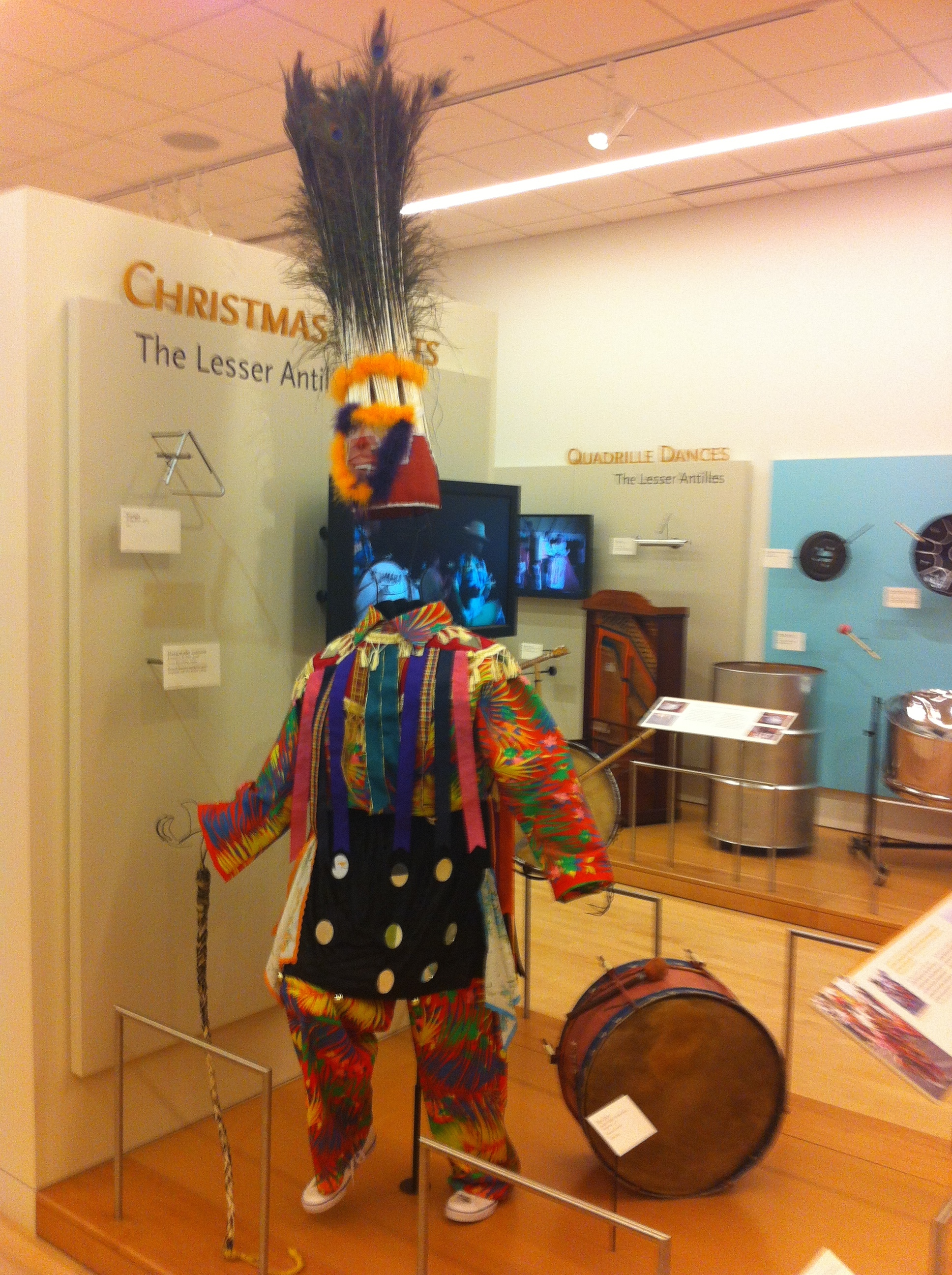 The integration of the local costumes relating to the music and culture was impressive.