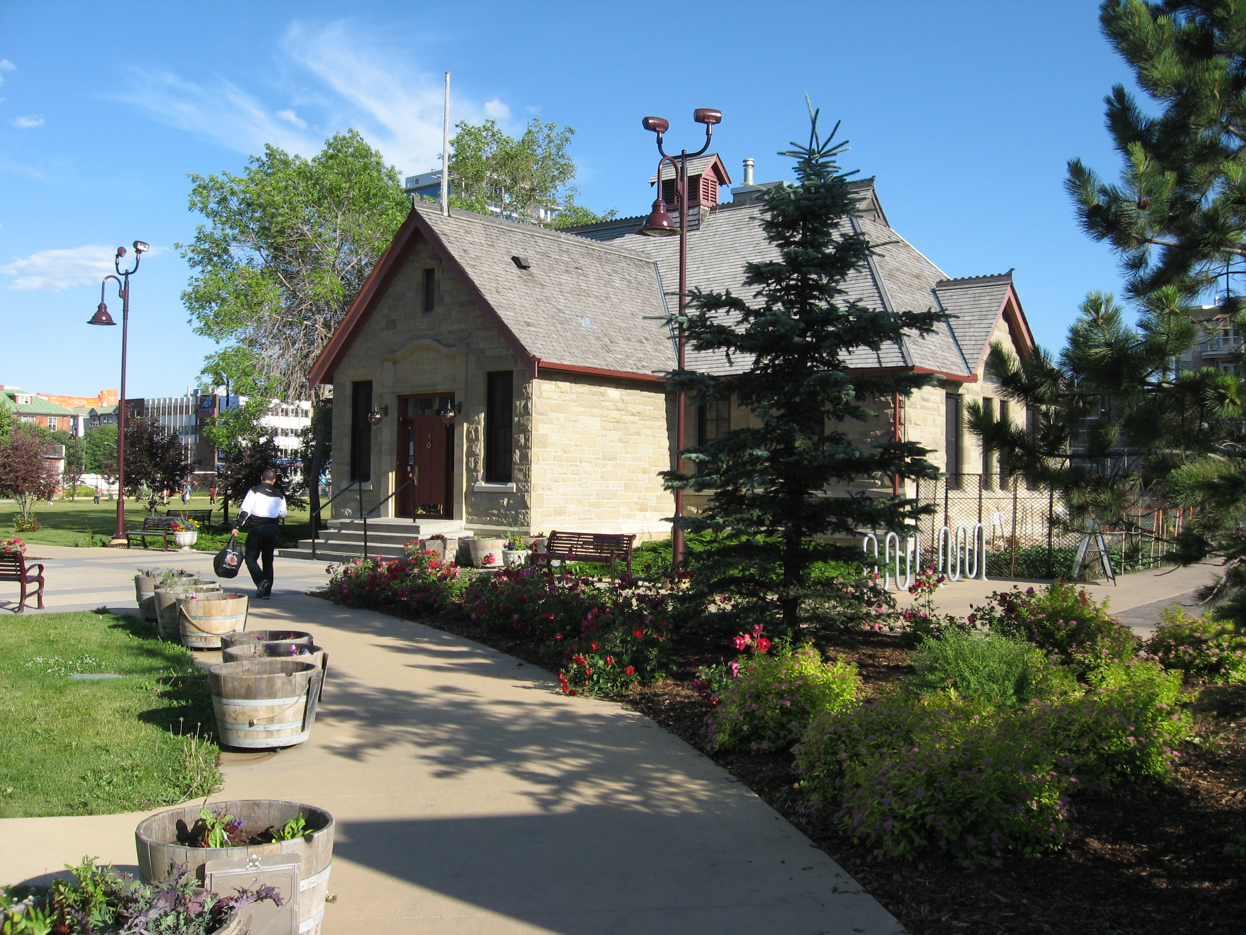 The historic Haultain School which is now the headquarters of the Calgary Parks Foundation.