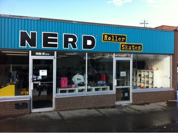 Nerd is just one of many hipster hangouts in Inglewood.