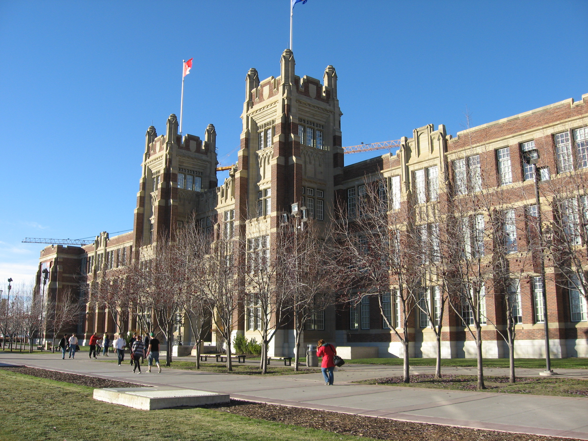 SAIT's Heritage Hall is Calgary's finest historic building.