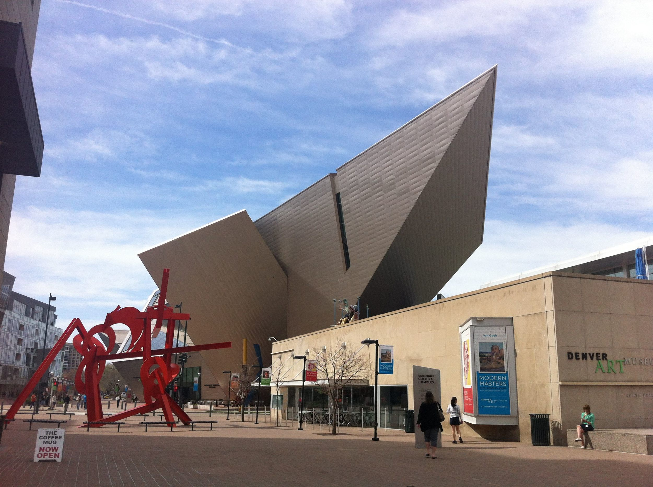 Denver's uber contemporary Art Museum. Calgary lacks a major arts museum.