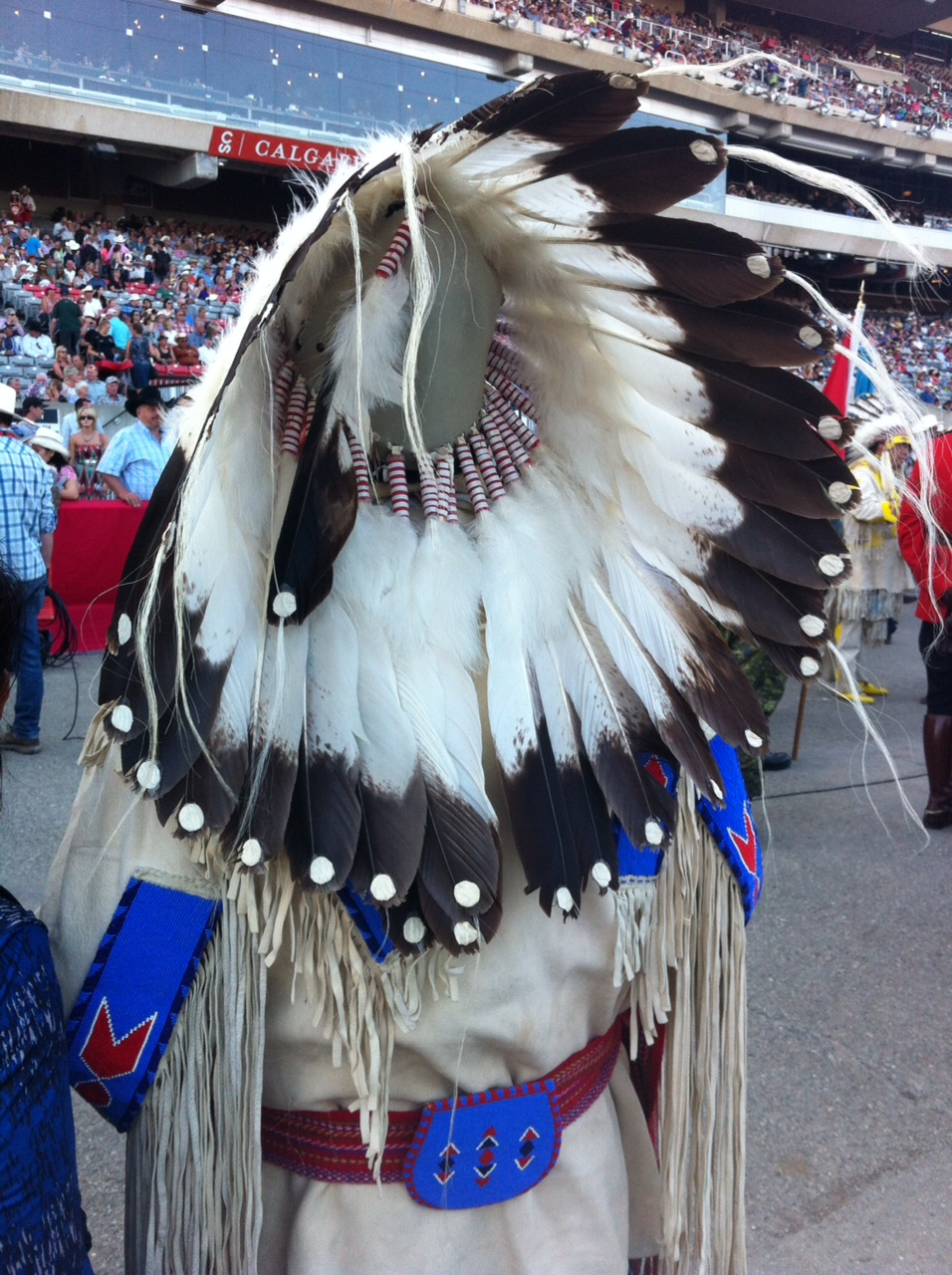 Stampede is all about fashion - past and present.