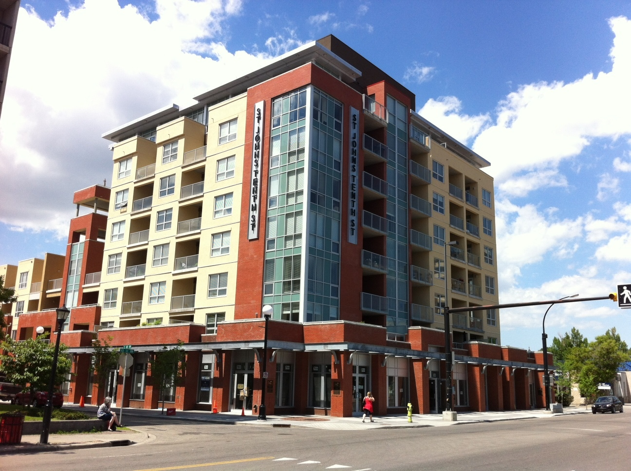 St Johns on 10th is just one of several new mid-rise condos recently completed, under construction or planned.