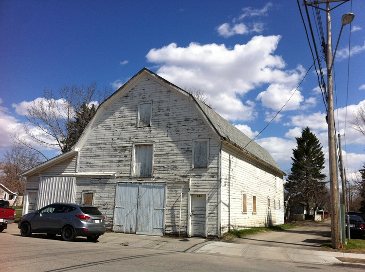 Calgary's Inglewood community is still home to two barns just off the city's original Main Street.