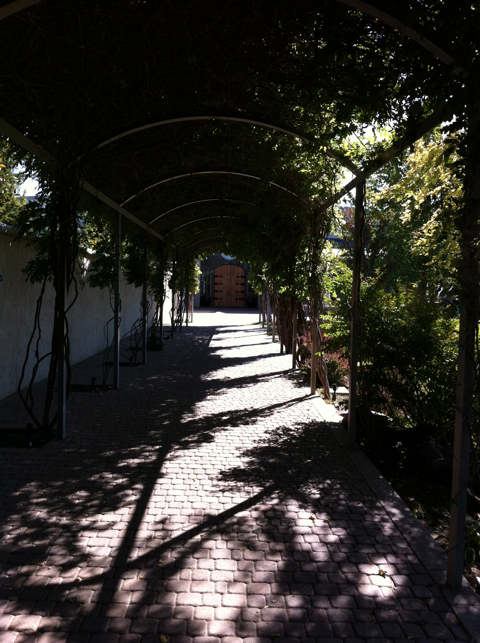 Entrance to the lovely  Terra Blanca Winery & Estate Vineyard  at Red Mountain.