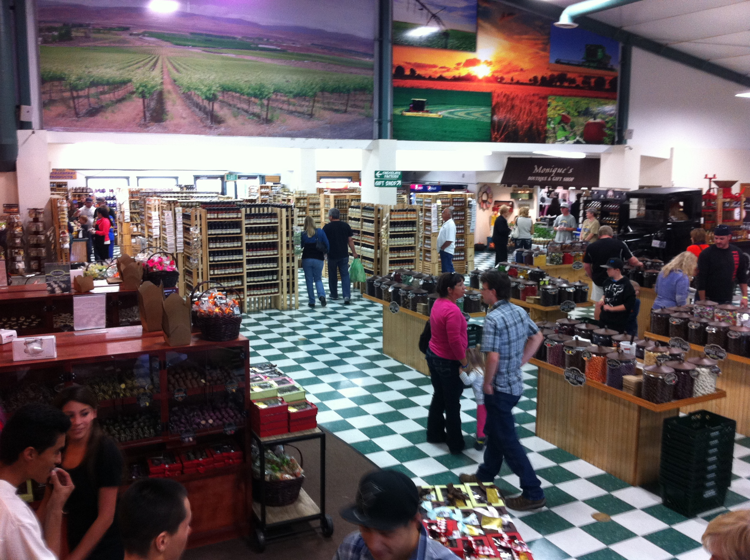 Country Mercantile store.