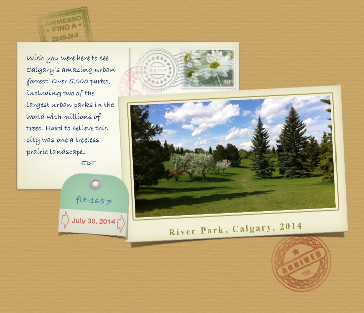 postcard river park