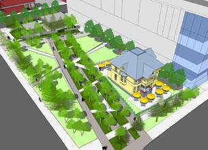 Plans for Enoch Park.