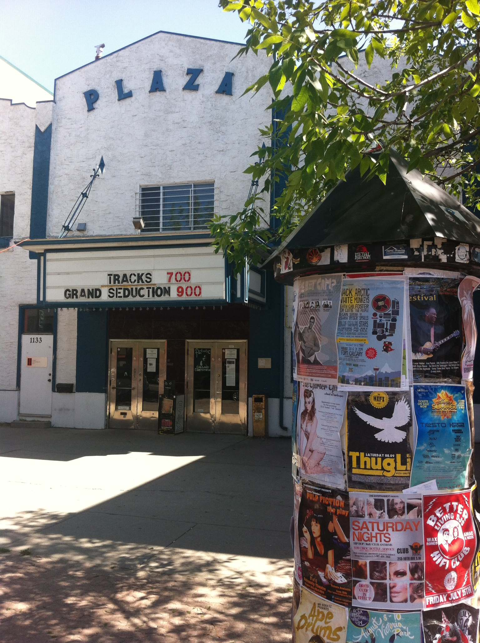 The Plaza is home to Calgary's film community.