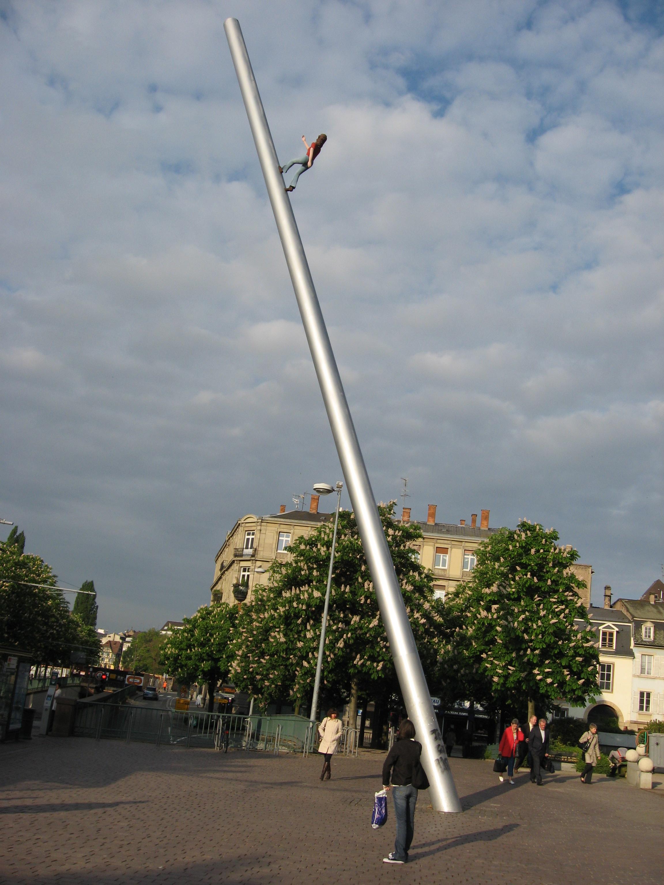 Lyon, France, public art.