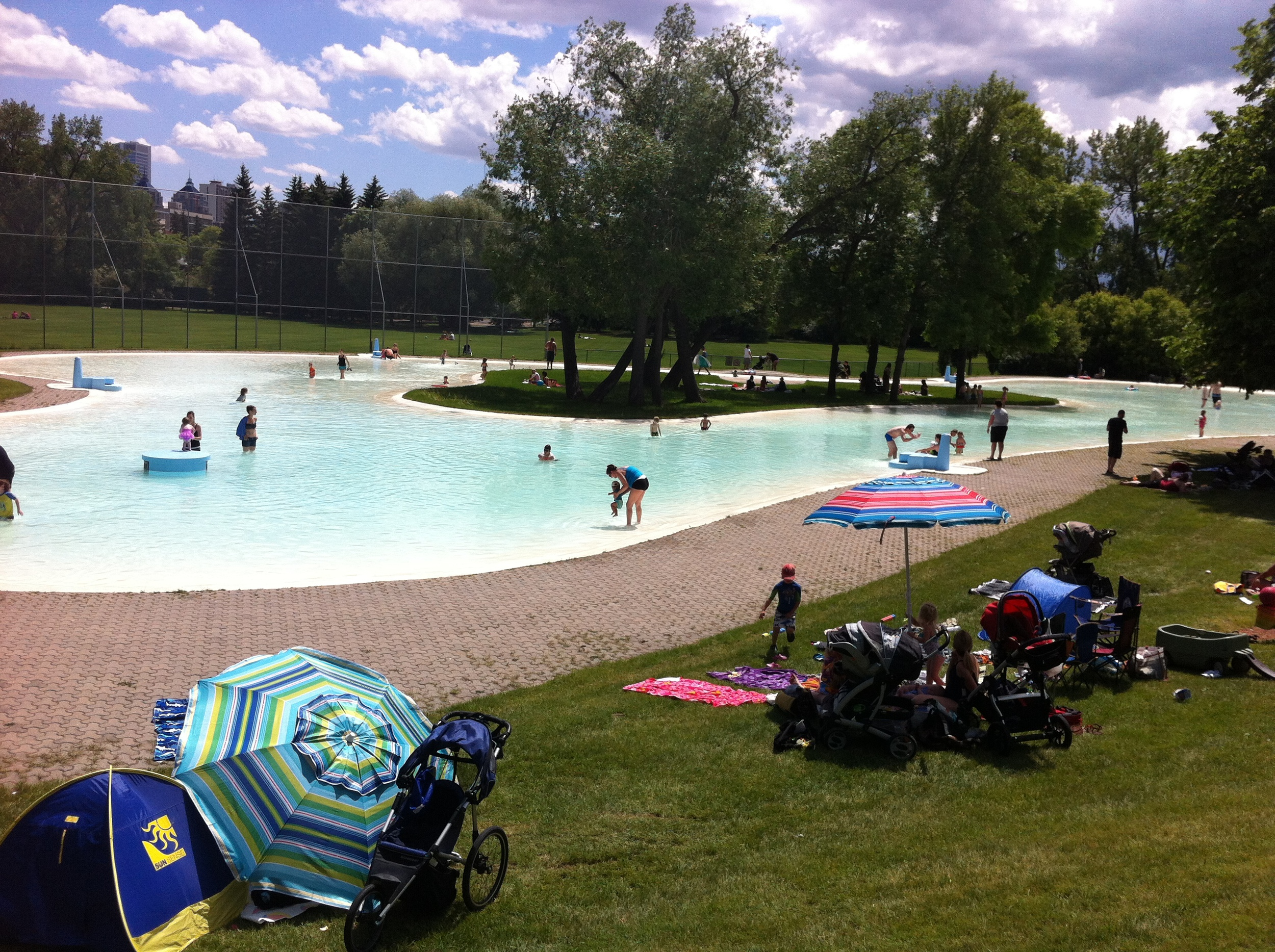 Riley Park wading pool