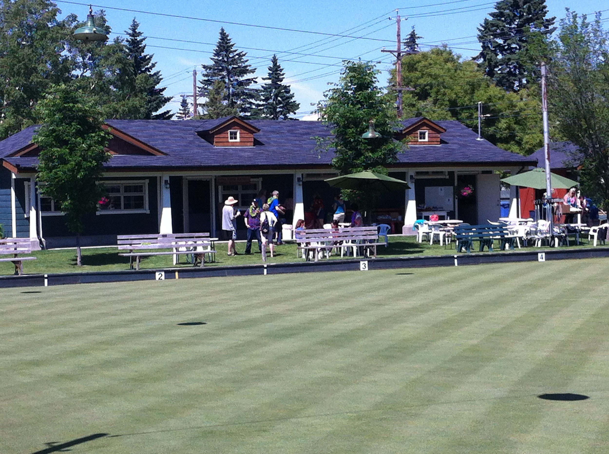 Lawn Bowling in West Hillhurst.