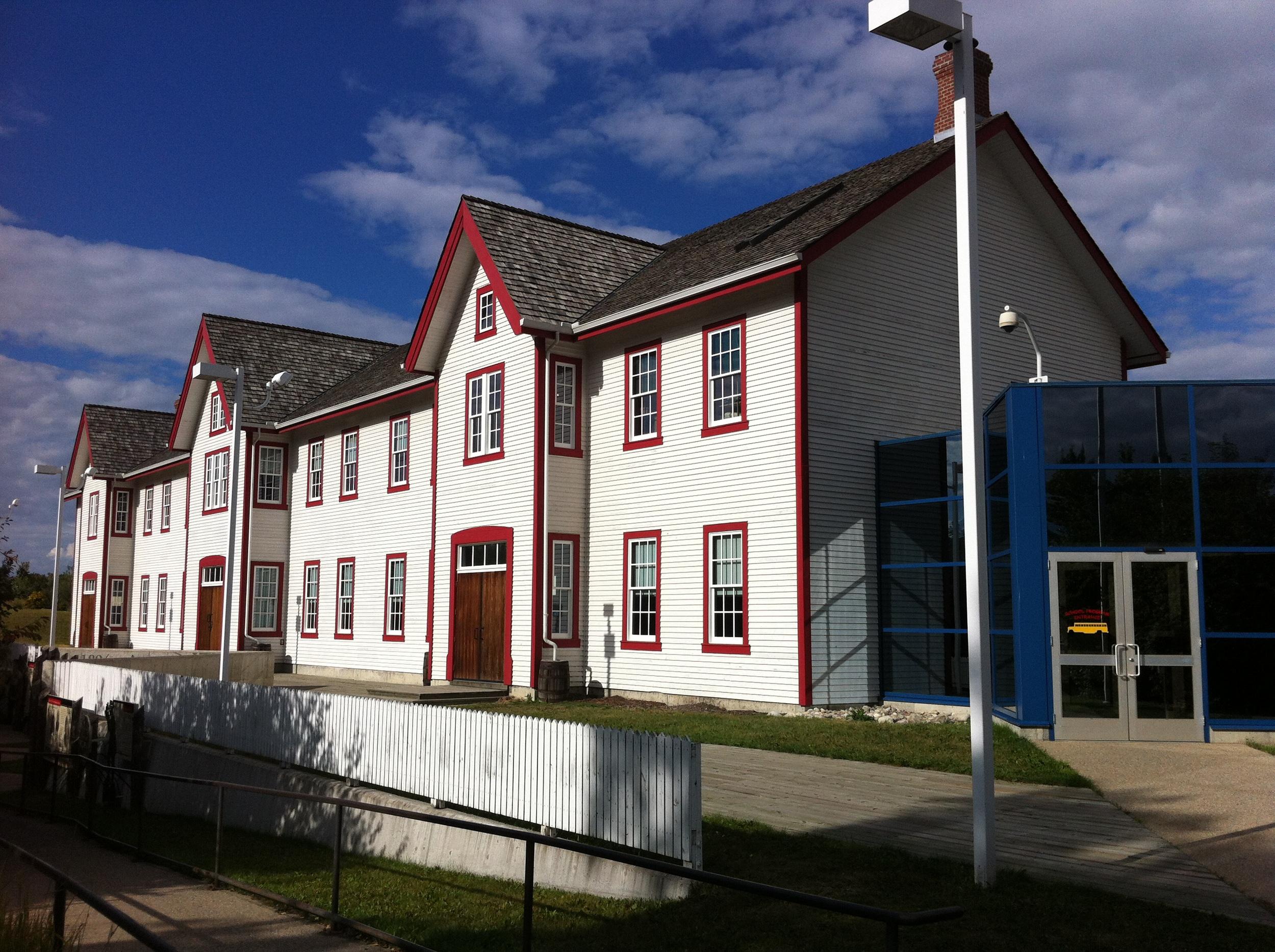 The Barracks building.