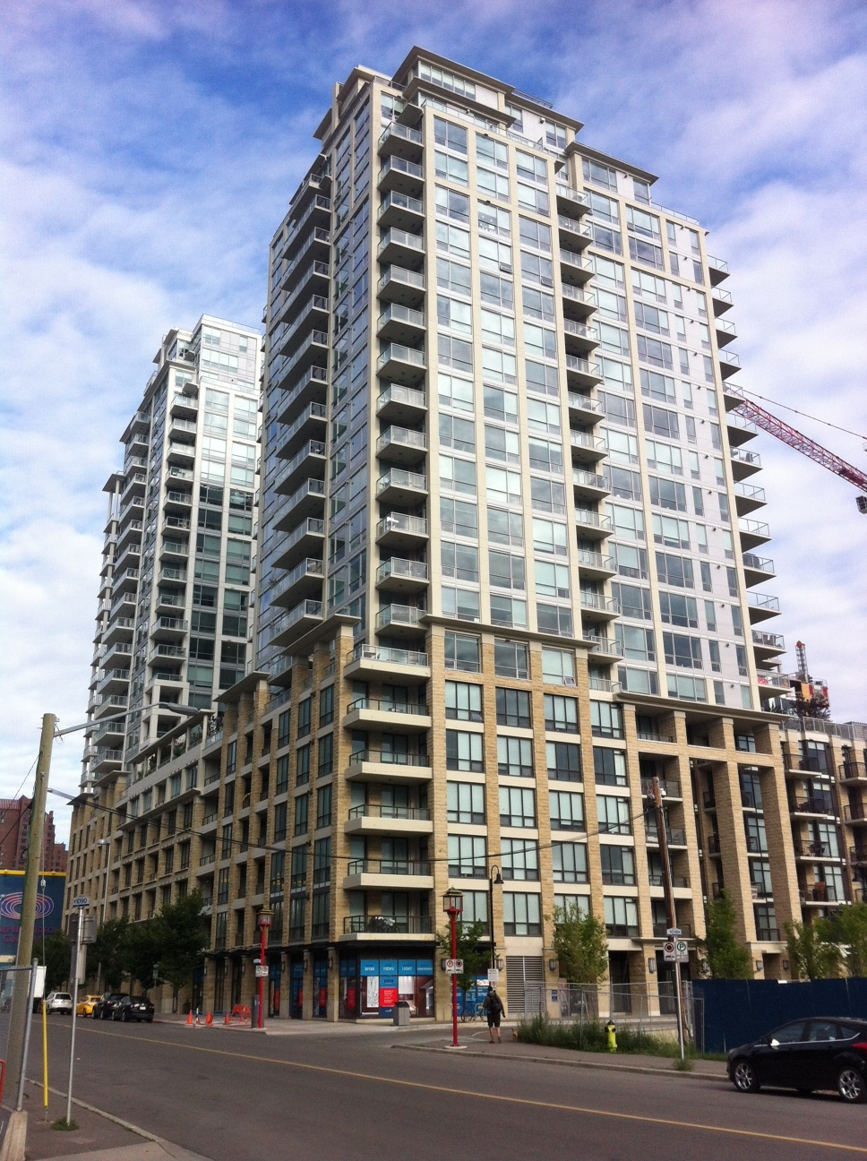 Waterfront project consists of five buildings with 1,000 condo units.