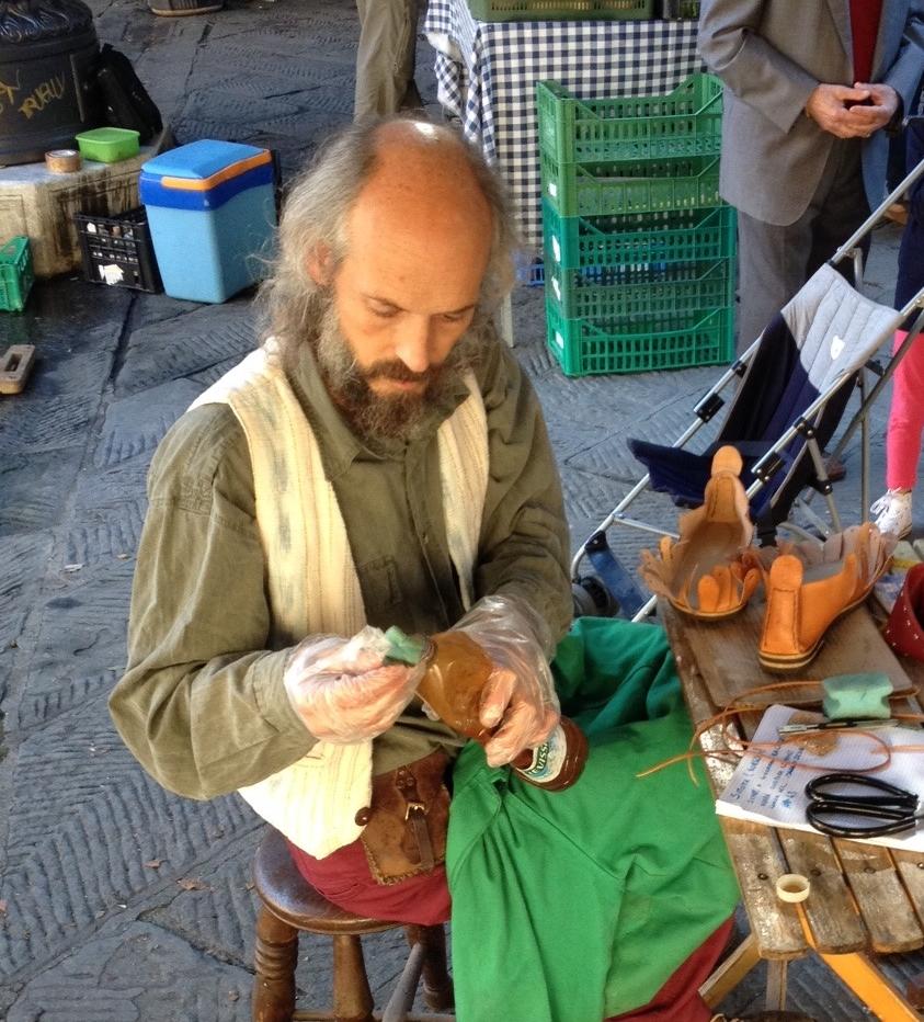 Shoe maker.