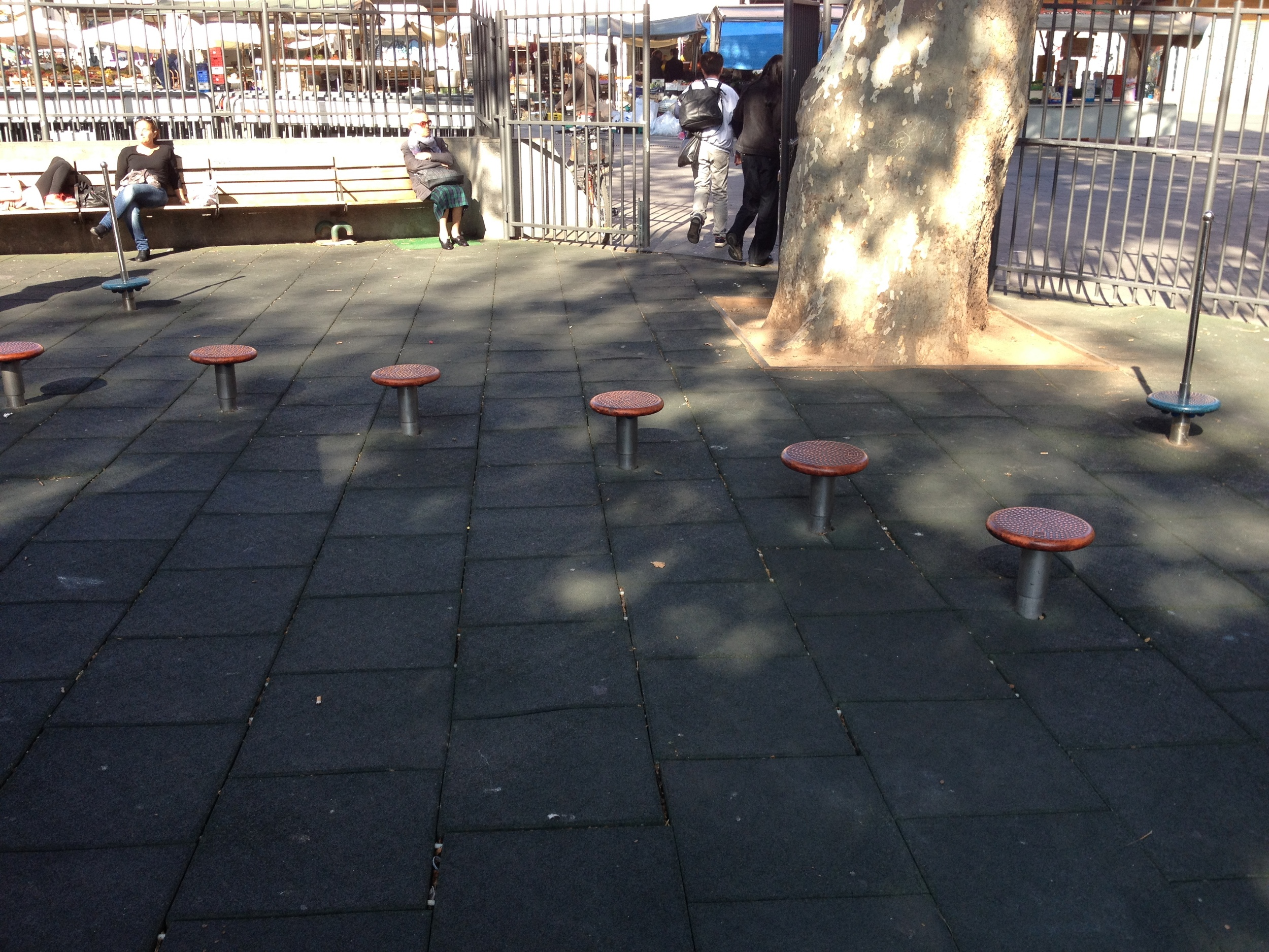The seven stepping stools, who would think they could be so much fun.