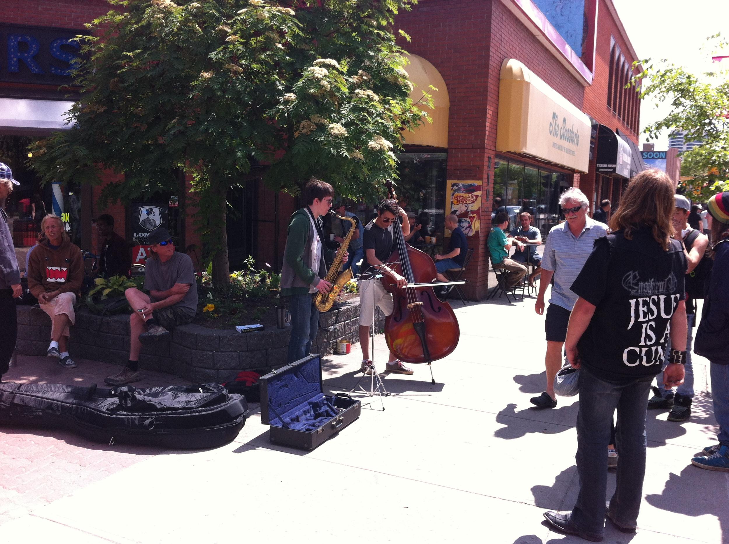 Calgary's street culture.