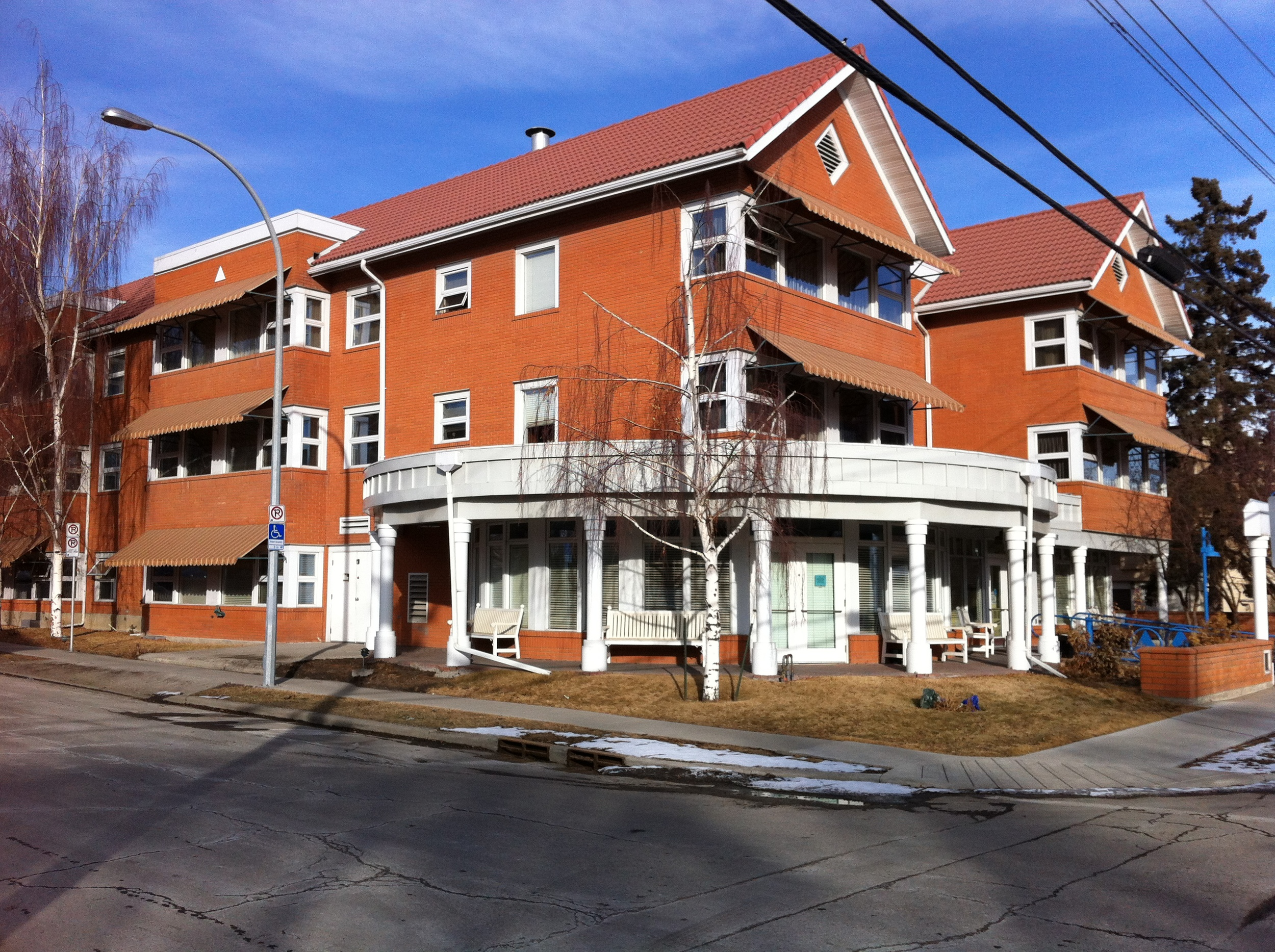 An example of assisted living complex in an established community that could be located next to Main Street as part of the community revitalization program.