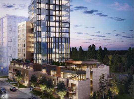 The River condo on 26th Ave SW is Calgary's most expensive condo project to date.