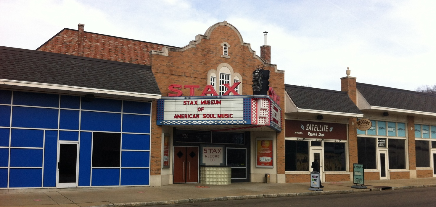 STAX museum is located in an older neighbourhood, with a mix of both new and somewhat seedy buildings.