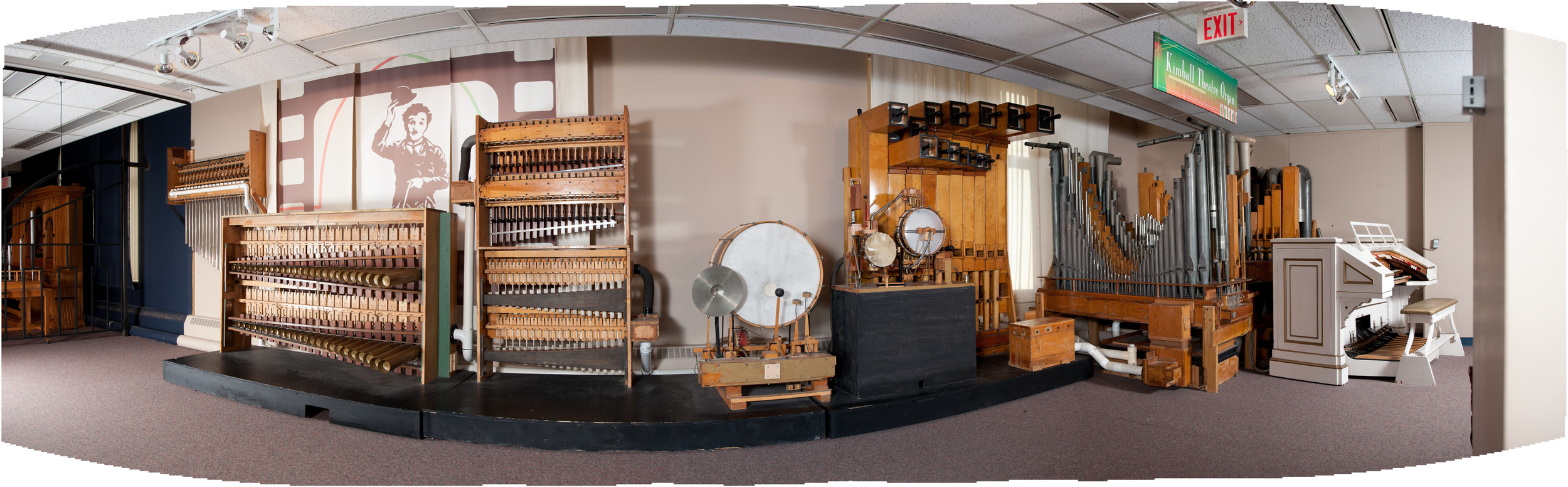 A sample of the diversity of keyboard instruments in the National Music Centre's collection. (photo credit: National Music Centre)