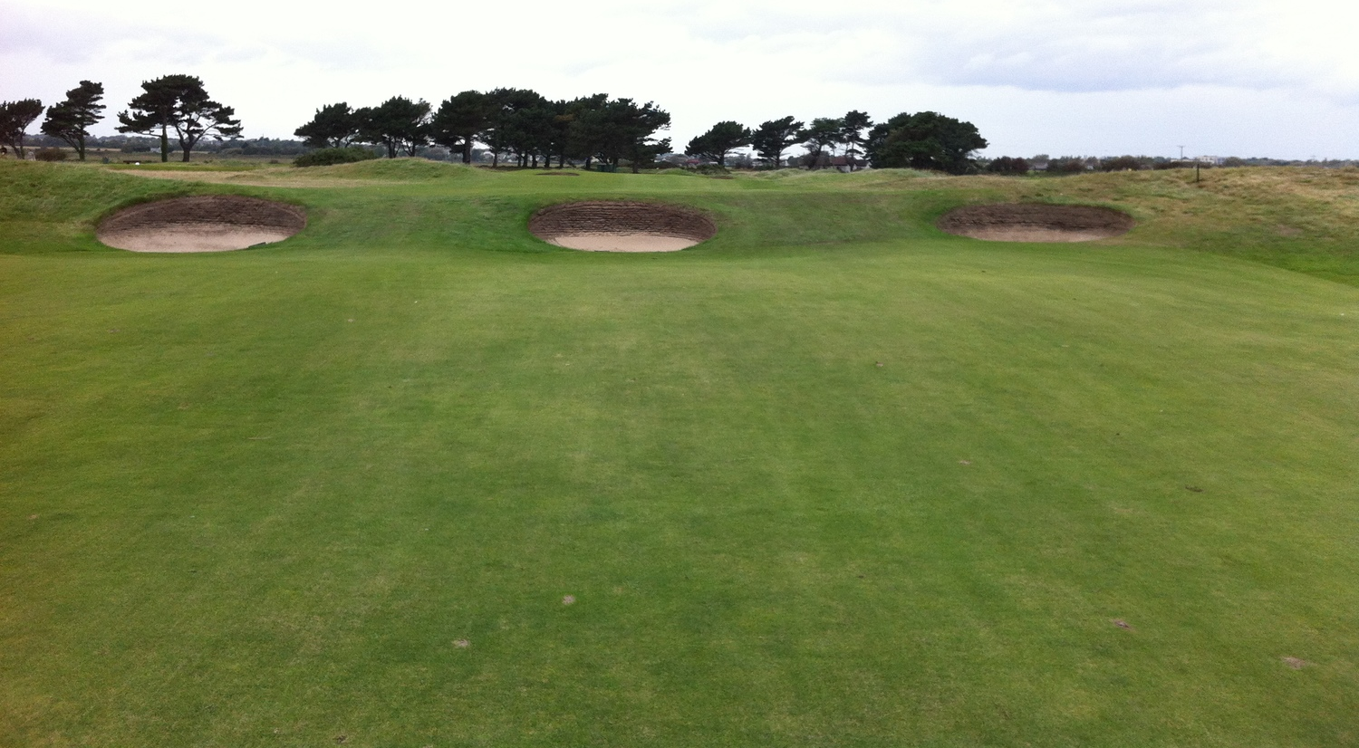 These bunkers are just daring you to try and carry them.