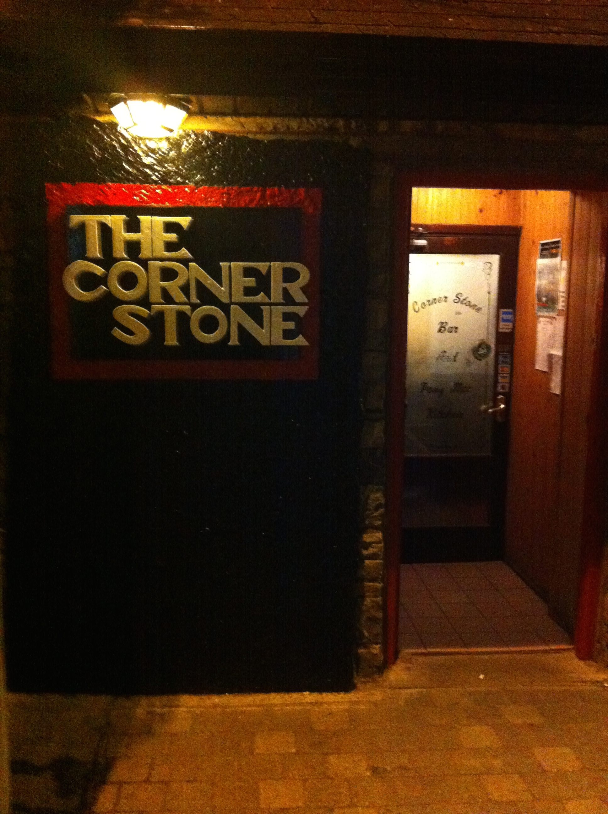 The Corner Stone was the official bar of our tour while in Lahinch.