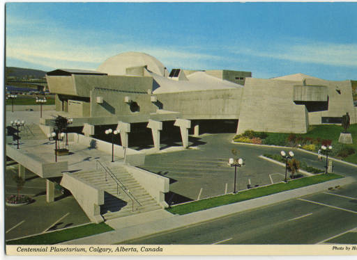 Calgary's Centennial Planetarium preceded the '80s Deconstructivsim architecture movement by twenty years.