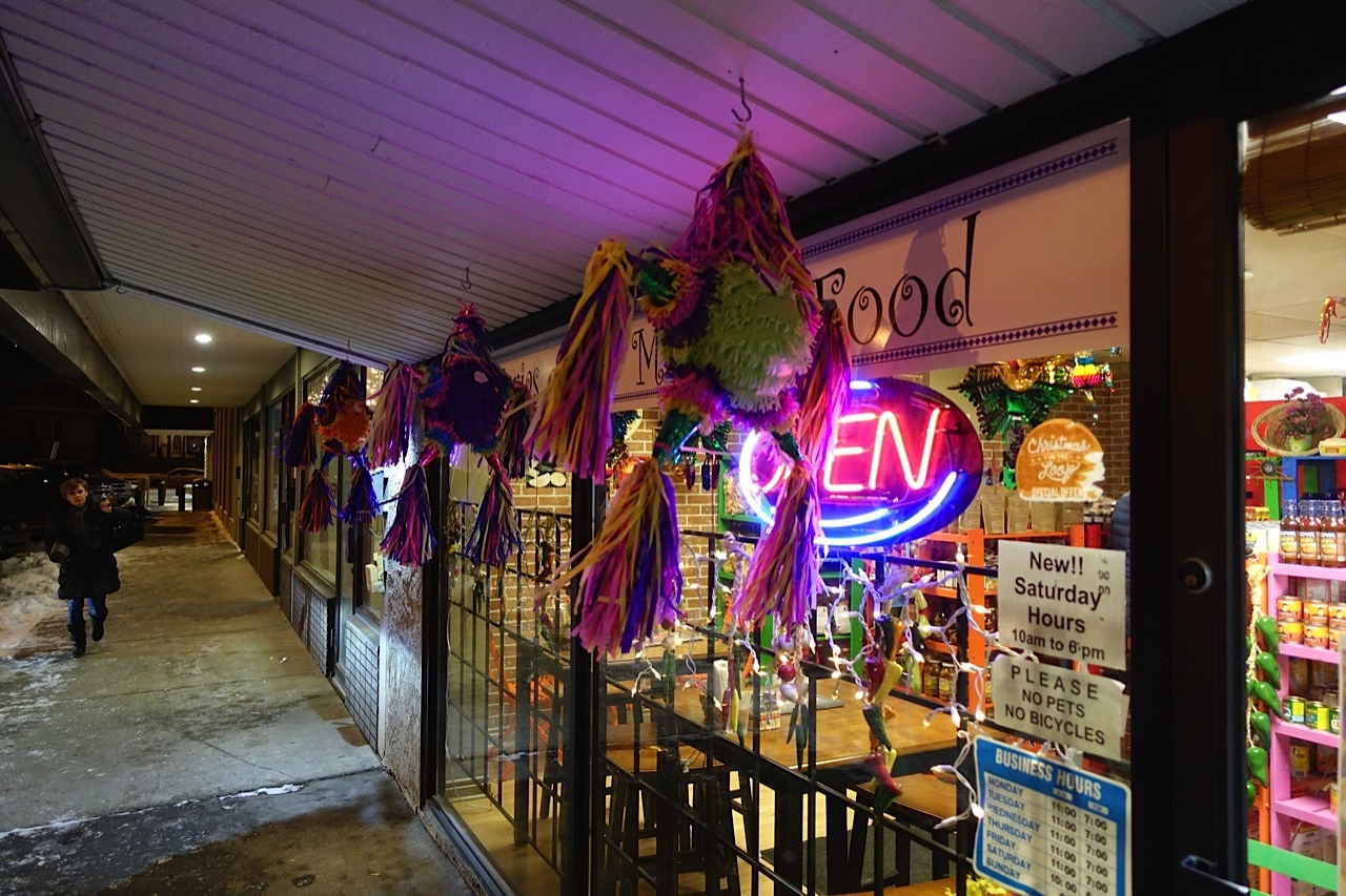 The Mexican Food store adds some charm and colour to Altadore's night life.