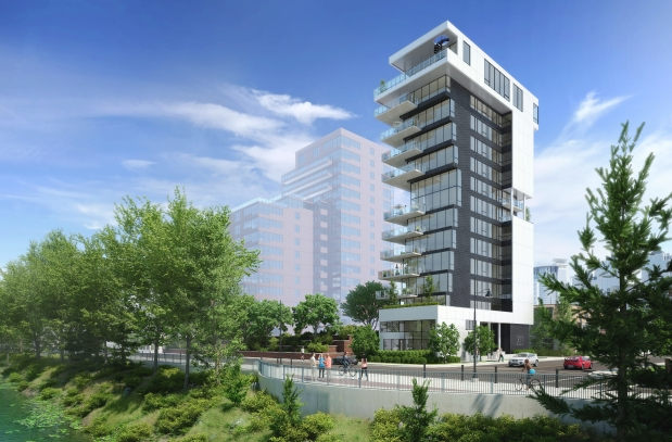 The proposed new XII condo is both futuristic and chic.