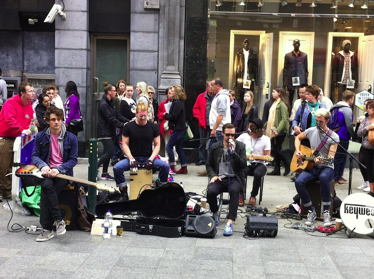 Dublin had some of the best buskers I have ever seen.