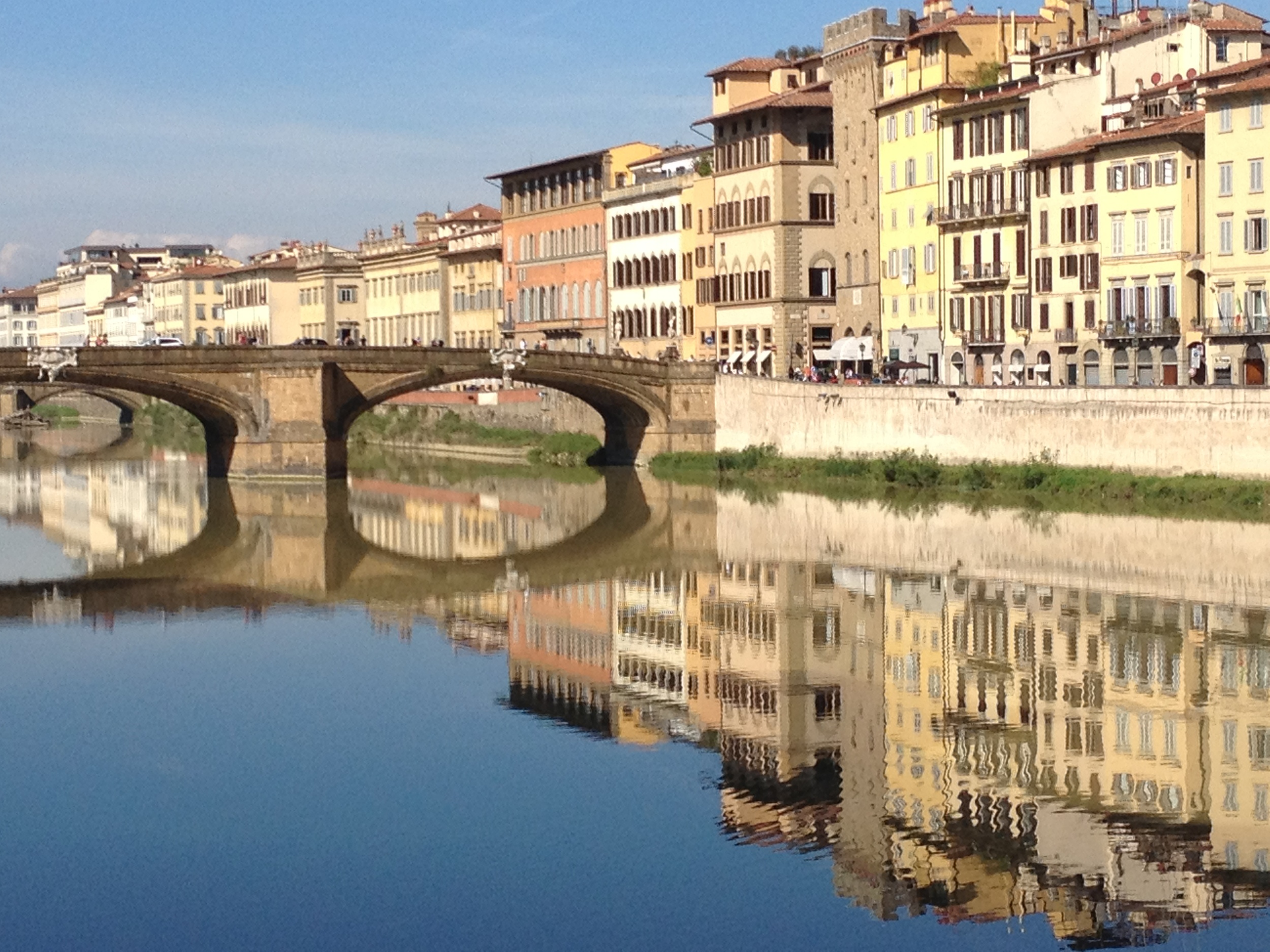 This is one of my postcard images of Florence.