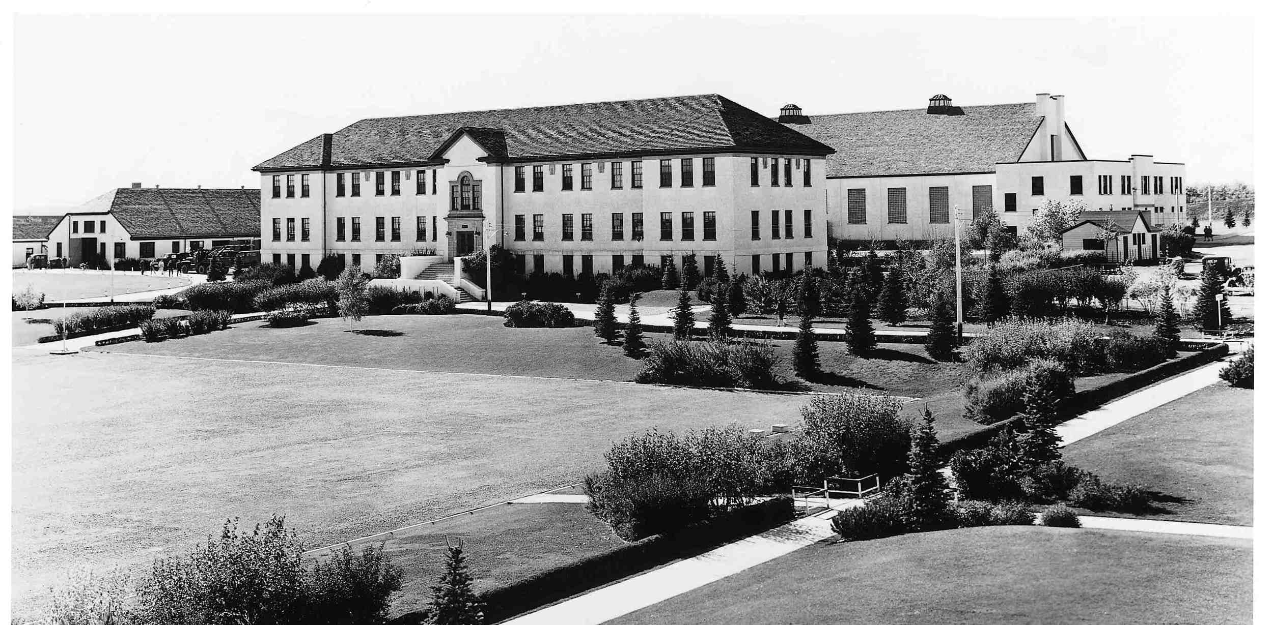 Currie Barracks circa 1941 (photo credit: Canada Lands Corporation)