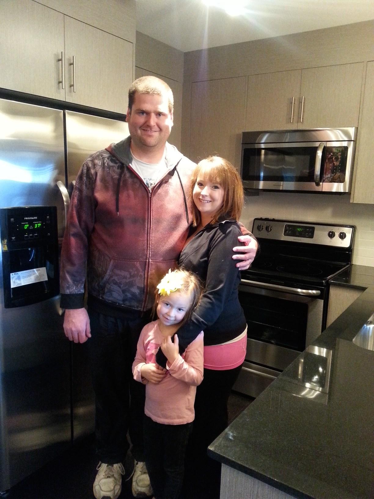 Attainable homes happy family.